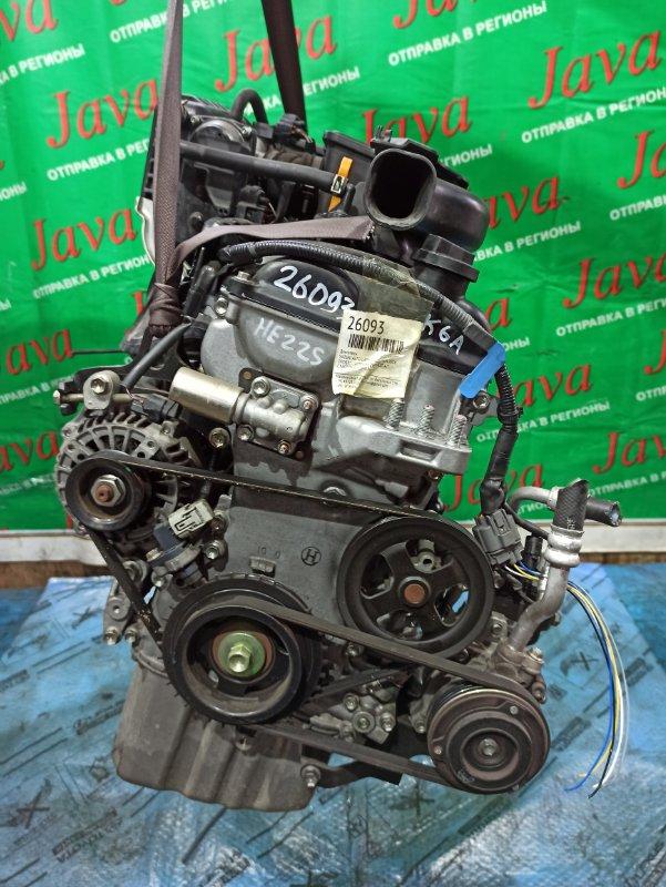 Двигатель Suzuki Alto Lapin HE22S K6A 2014 (б/у) ПРОБЕГ-14000КМ. 2WD. ЭЛЕКТРО ЗАСЛОНКА. ПОД А/Т. СТАРТЕР В КОМПЛЕКТЕ.