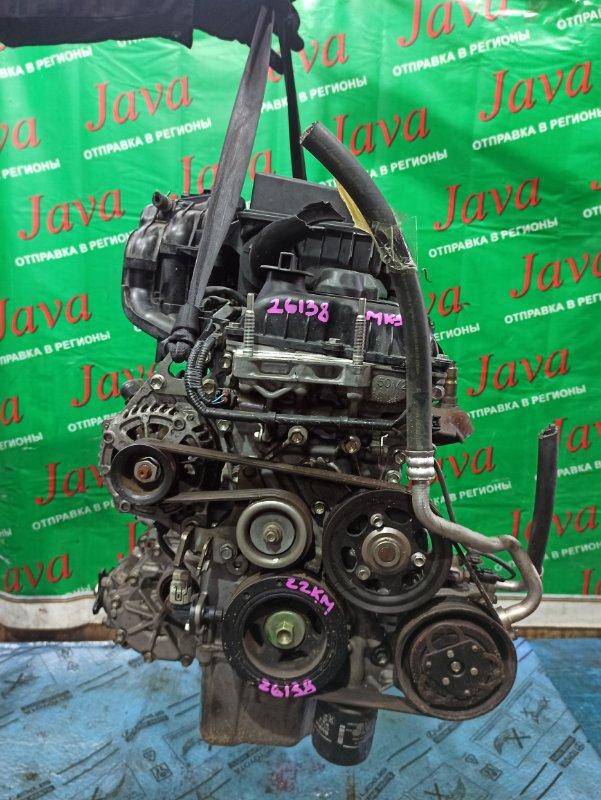 Двигатель Suzuki Spacia MK32S R06A 2014 (б/у) ПРОБЕГ-22000КМ. 4WD. +КОМП. ЭЛЕКТРО ЗАСЛОНКА. ПОД А/Т. СТАРТЕР В КОМПЛЕКТЕ.