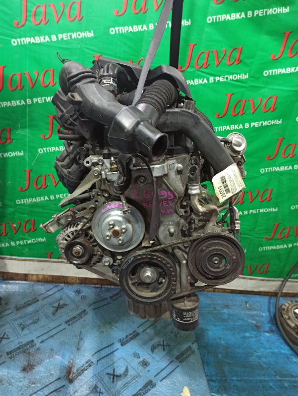 Двигатель Daihatsu Tanto LA600S KF-VET 2014 (б/у) ПРОБЕГ-41000КМ. 2WD. + КОМП. ПОД А/Т. СТАРТЕР В КОМПЛЕКТЕ.