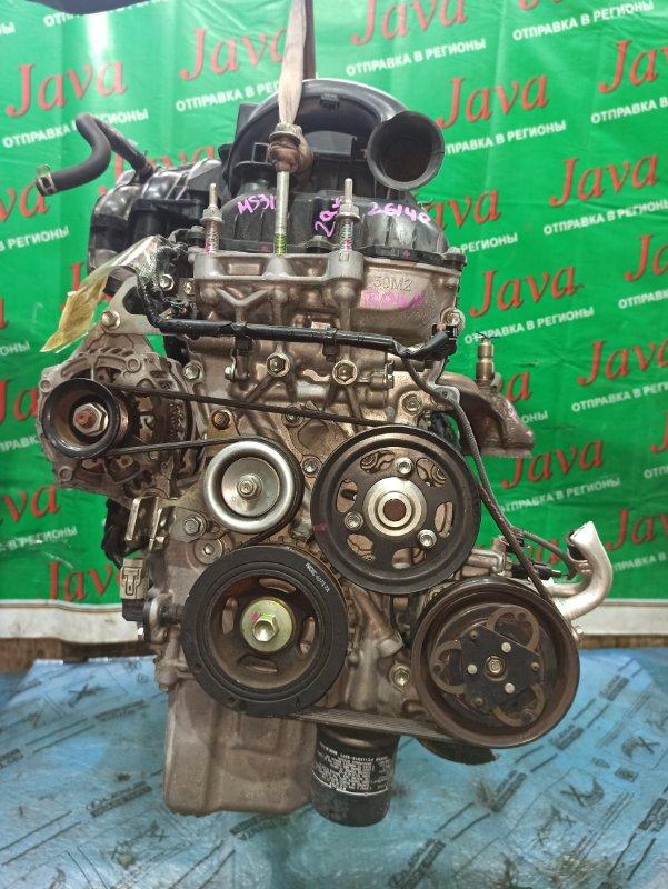 Двигатель Mazda Flair Crossover MS31S R06A 2014 (б/у) ПРОБЕГ-29000КМ. 2WD. +КОМП. ЭЛЕКТРО ЗАСЛОНКА. ПОД А/Т. СТАРТЕР В КОМПЛЕКТЕ.