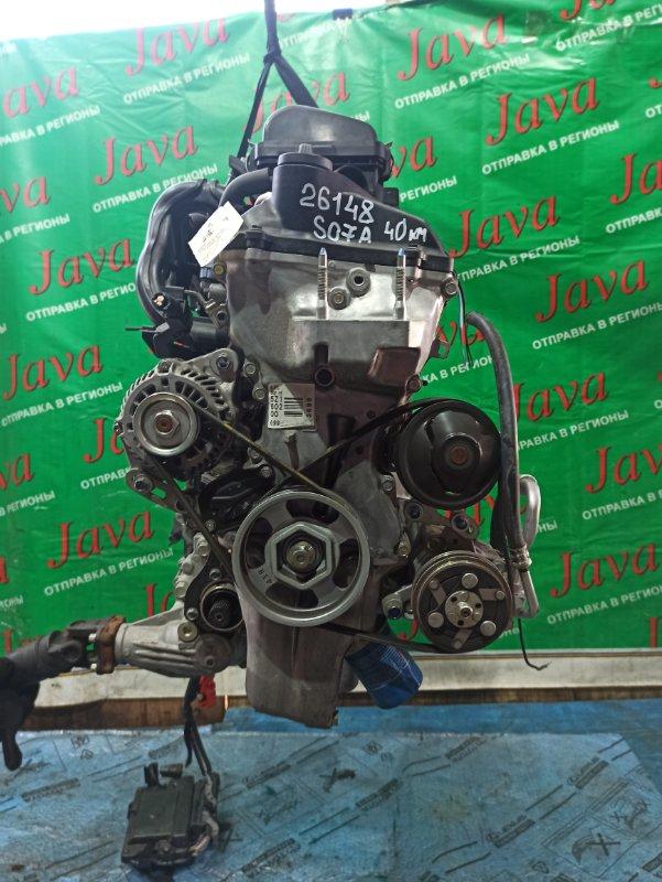 Двигатель Honda N-Wgn JH2 S07A 2015 (б/у) ПРОБЕГ-40000КМ. 4WD. КОСА+КОМП. ЭЛЕКТРО ЗАСЛОНКА. ПОД А/Т. СТАРТЕР В КОМПЛЕКТЕ. ЛОМ ШКИВА ПОМПЫ.