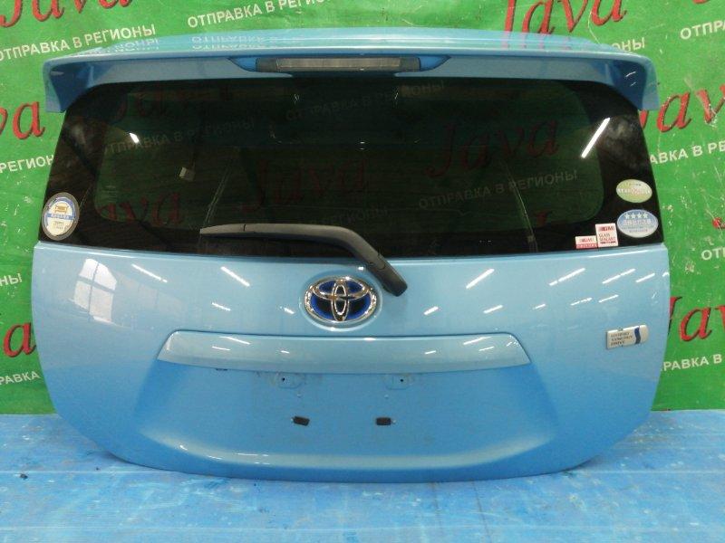 Дверь задняя Toyota Aqua NHP10 1NZ-FXE 2012 задняя (б/у) ПОТЕРТОСТИ. СПОЙЛЕР AERO, МЕТЛА, КАМЕРА.