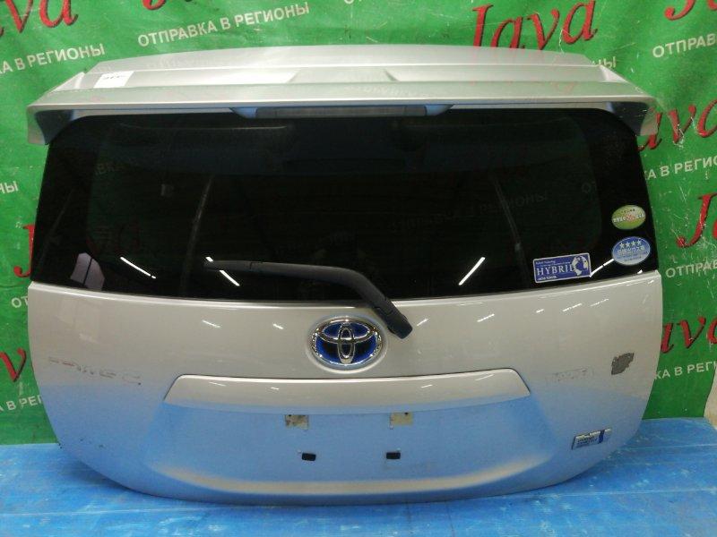 Дверь задняя Toyota Aqua NHP10 1NZ-FXE 2013 задняя (б/у) ПОТЕРТОСТИ. СЛЕДЫ СКОТЧА. СПОЙЛЕР AERO, МЕТЛА, КАМЕРА.