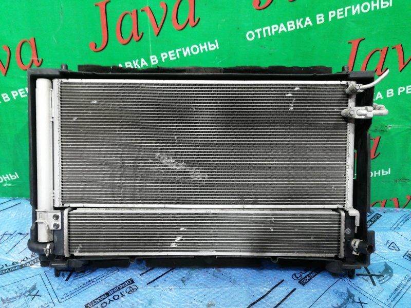 Радиатор основной Lexus Hs250H ANF10 2AZ-FXE 2009 передний (б/у) В СБОРЕ.