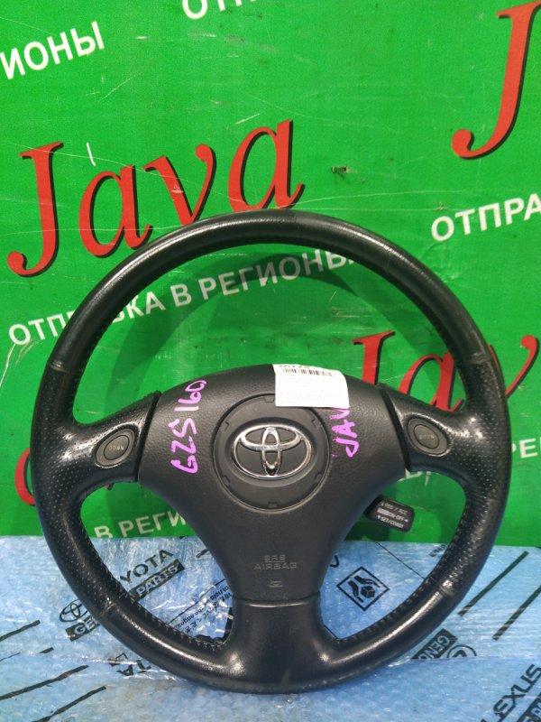 Руль Toyota Aristo JZS161 2JZ-GE 2000 передний (б/у) БЕЗ ПАТРОНА AIR BAG.