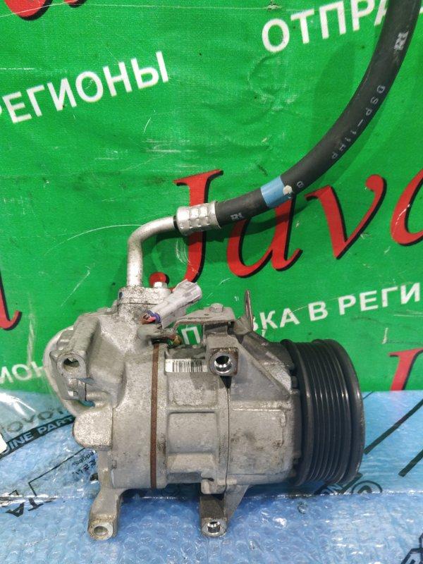 Компрессор кондиционера Toyota Vitz SCP90 2SZ-FE 2008 (б/у) 447260-2332
