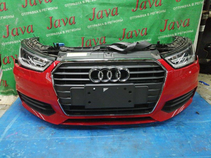 Ноускат Audi A1 8X1 CHZ 2018 передний (б/у) КСЕНОН. ПОД А/Т. ДЕФЕКТЫ РЕШЕТКИ.WAUZZZ8X9JB058775