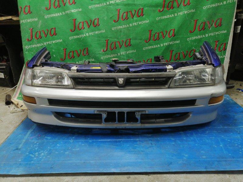 Ноускат Toyota Sprinter EE104 5E-FE 1998 передний (б/у) ПОД А/Т. ПОТЕРТОСТЬ НА БАМПЕРЕ.