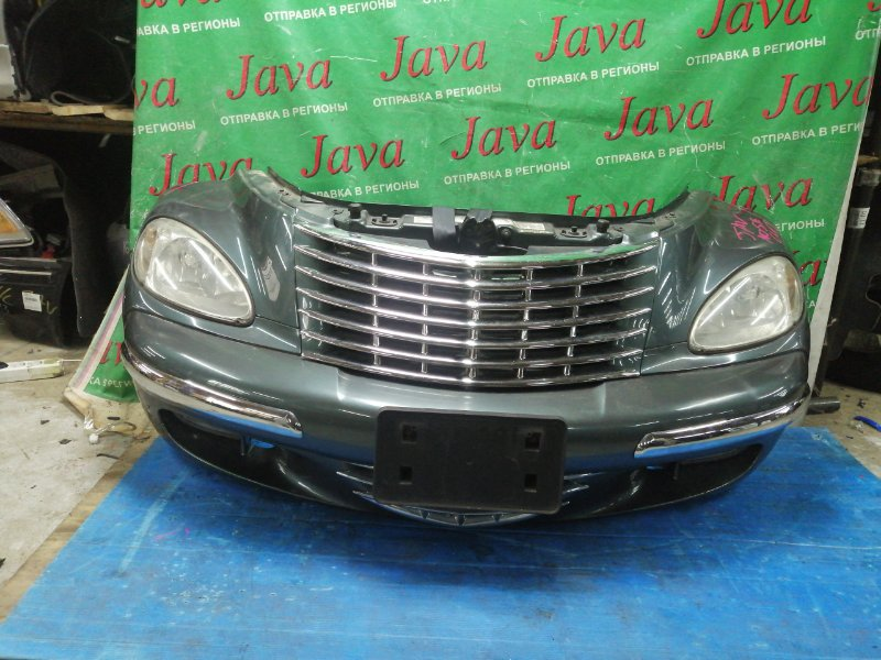 Ноускат Chrysler Pt Cruiser PT EDZ 2003 передний (б/у) ТУМАНКИ. ПОД А/Т. ФАРЫ ГАЛОГЕН. 1C8FZB89X2U550802