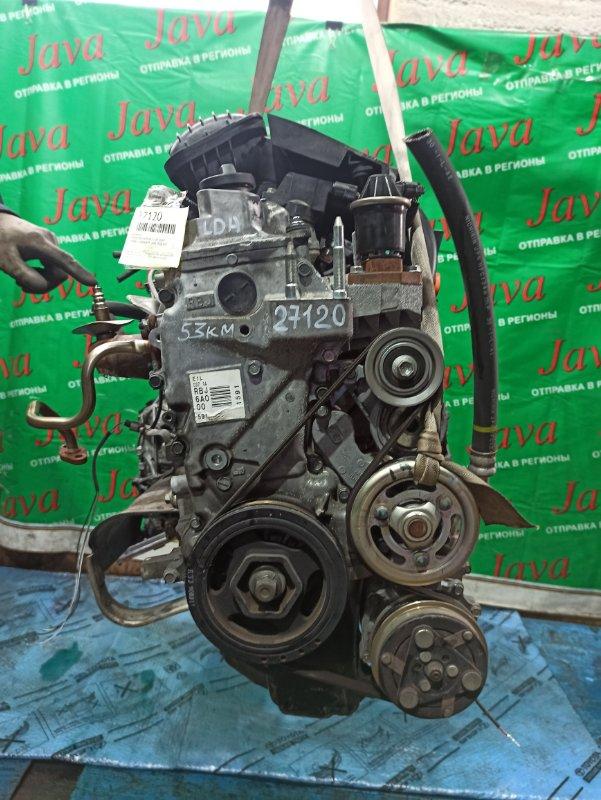 Двигатель Honda Insight ZE2 LDA 2009 (б/у) ПРОБЕГ-53000КМ. 2WD. КОСА+КОМП. ПОД А/Т.