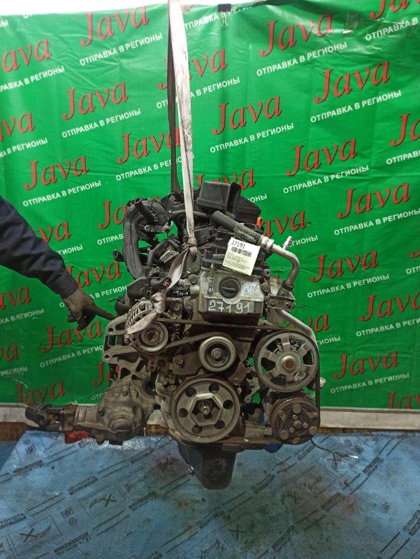 Двигатель Honda Life JC2 P07A 2013 (б/у) ПРОБЕГ-48000КМ. 4WD. ПОД А/Т. СТАРТЕР В КОМПЛЕКТЕ.