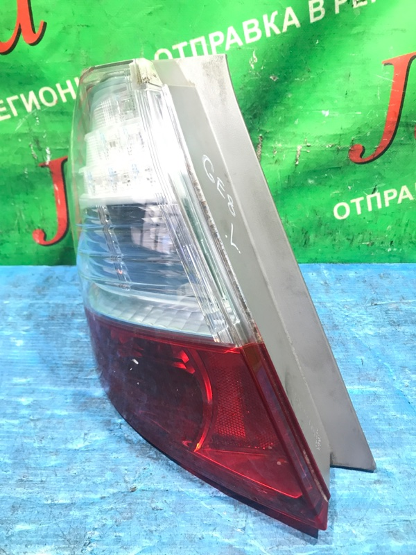 Стоп-сигнал Honda Fit GE8 L15A 2007 задний левый (б/у) P7612