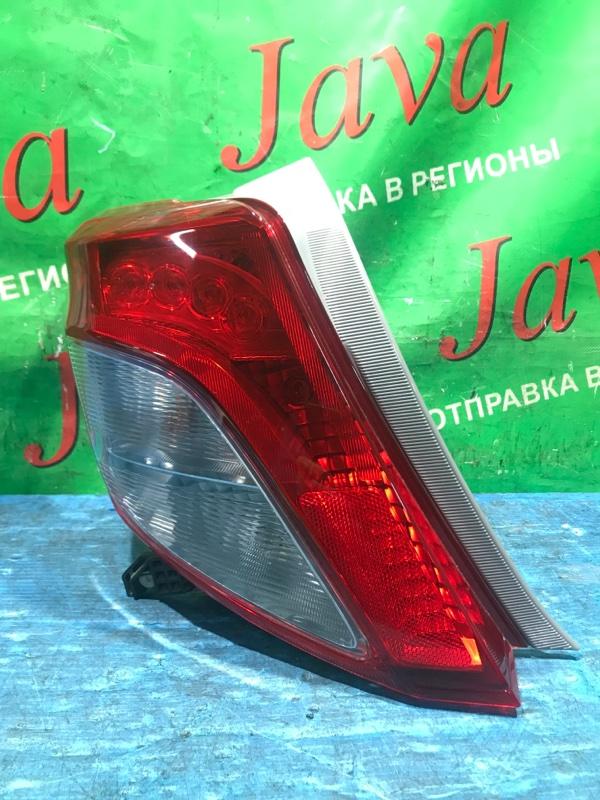 Стоп-сигнал Toyota Vitz KSP130 1KR-FE 2013 задний левый (б/у) 52-228