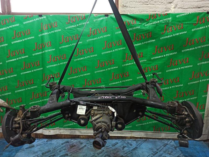 Балка Nissan X-Trail NT30 QR20DE 2002 задняя (б/у) 4WD. А/Т