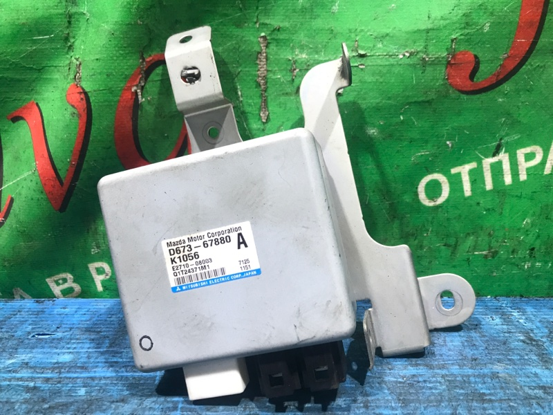 Блок управления рулевой рейкой Mazda Demio DY5W ZY 2006 (б/у) D673-67880