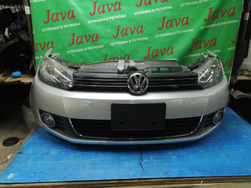 Ноускат Volkswagen Golf 5K1 CAV 2009 передний (б/у) ТУМАНКИ. ФАРЫ ГАЛОГЕН. ПОД А/Т. WVWZZZ1KZ9W499794