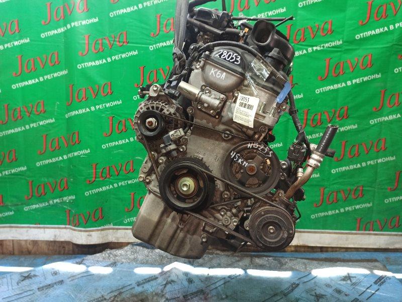 Двигатель Mazda Carol HB25S K6A 2012 (б/у) ПРОБЕГ-45000КМ. 2WD. МЕХ.ЗАСЛОНКА. +КОМП. ПОД А/Т. СТАРТЕР В КОМПЛЕКТЕ.