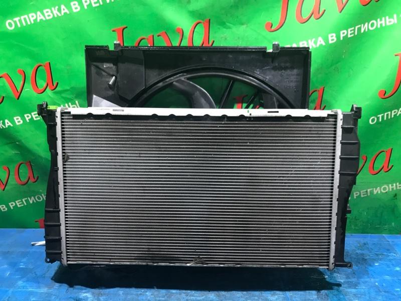 Радиатор основной Bmw 1-Series E82 N55B30A 2012 передний (б/у) WBAUC92010VM08369. 135i А/Т В СБОРЕ КАК НА ФОТО.