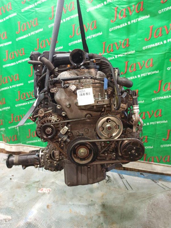Двигатель Suzuki Alto Lapin HE22S K6A-T 2009 (б/у) ПРОБЕГ-47000КМ. 4WD. ЭЛЕКТРО ЗАСЛОНКА. +КОМП. ПОД А/Т. СТАРТЕР В КОМПЛЕКТЕ.