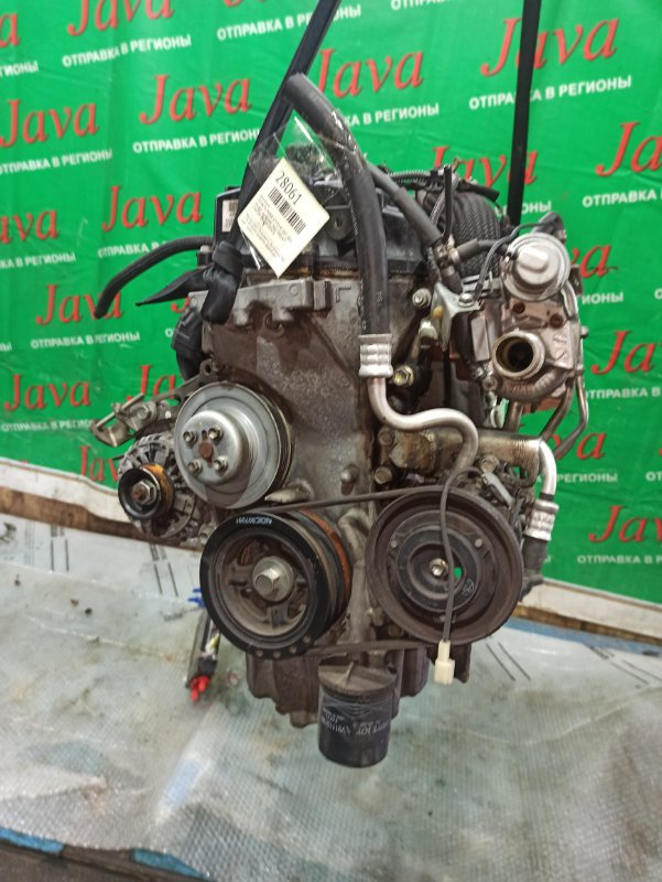 Двигатель Daihatsu Move L175S KF-DET 2008 (б/у) ПРОБЕГ-46000КМ. 2WD. КОСА+КОМП. ПОД А/Т. СТАРТЕР В КОМПЛЕКТЕ.