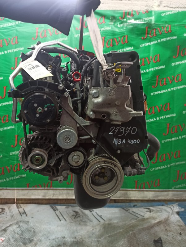 Двигатель Fiat 500 169A4000 2008 (б/у) ЭЛЕКТРО ЗАСЛОНКА. ПОД А/Т. 2WD. ZFA31200000059322