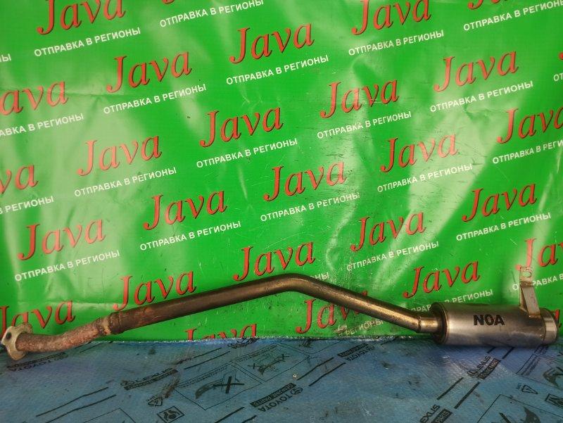 Глушитель Suzuki Jimny JB23W K6A-T 2006 задний (б/у) NOA