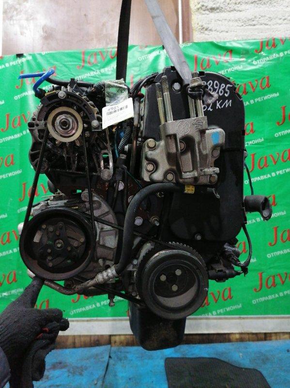 Двигатель Fiat Punto 188 188A5000 2001 (б/у) ПРОБЕГ-62000КМ. 2WD. +КОМП. ПОД А/Т. СТАРТЕР В КОМПЛЕКТЕ. ZFA18800004284639. ЛОМ КРЫШКИ ГРМ И ТРАМБЛЕРА.