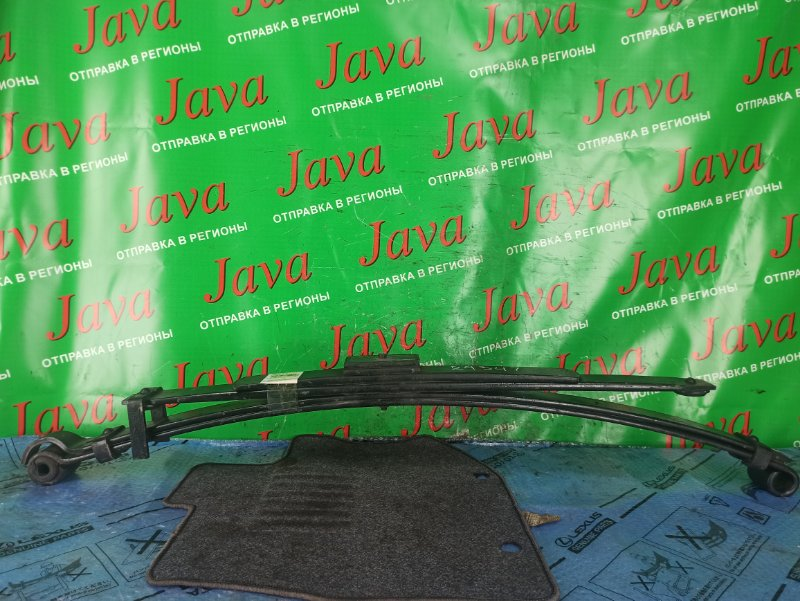 Рессора Toyota Dyna YY121 3Y 1999 задняя левая (б/у) 4 листа