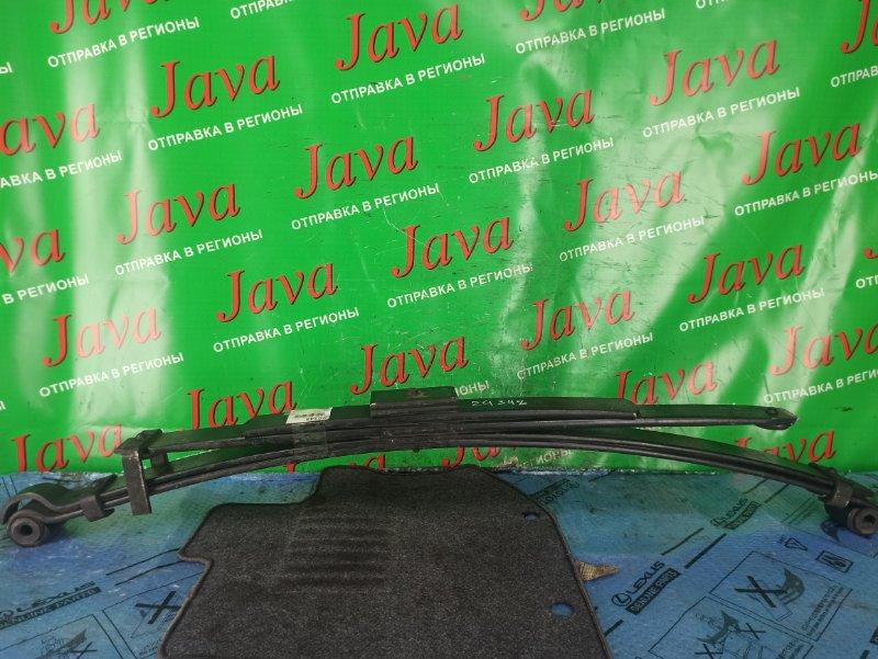 Рессора Toyota Dyna YY121 3Y 1999 задняя правая (б/у) 4 листа