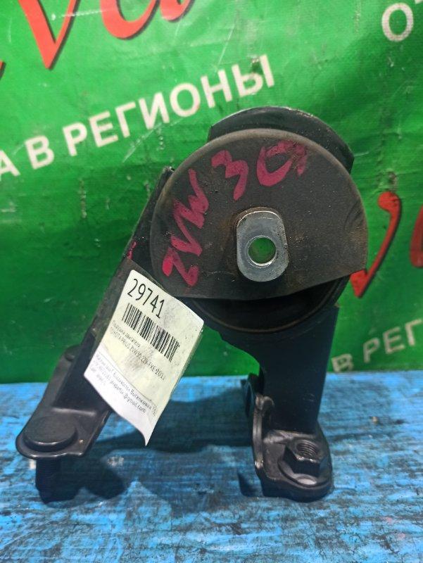 Подушка двигателя Toyota Prius ZVW30 2ZR-FXE 2012 задняя (б/у)