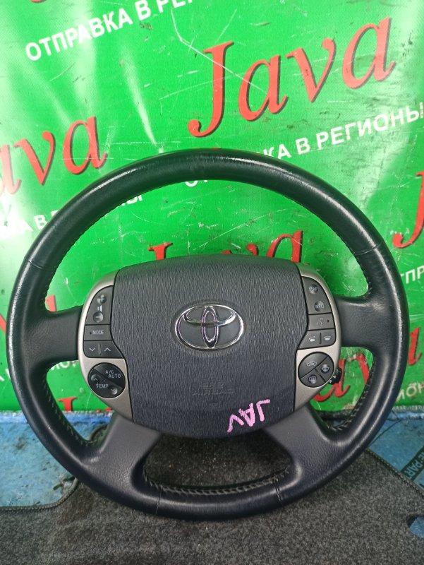 Руль Toyota Prius NHW20 1NZ-FXE 2008 передний (б/у) БЕЗ ПАТРОНА AIR BAG. МУЛЬТИРУЛЬ