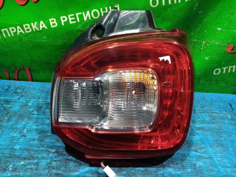 Стоп-сигнал Toyota Passo M710A 1KR-FE 2016 передний правый (б/у) 220-69026