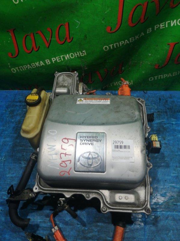 Инвертор Toyota Prius NHW20 1NZ-FXE 2007 передний (б/у) G9200-47110. G9270-47040