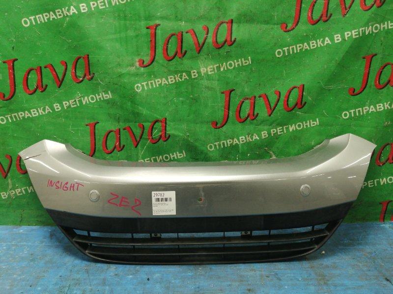 Решетка радиатора Honda Insight ZE2 LDA 2010 передняя (б/у) НИЖНЯЯ. + СОНАРЫ