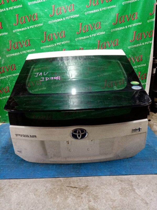 Дверь задняя Toyota Prius ZVW30 2ZR-FXE 2009 задняя (б/у) ПОТЕРТОСТИ