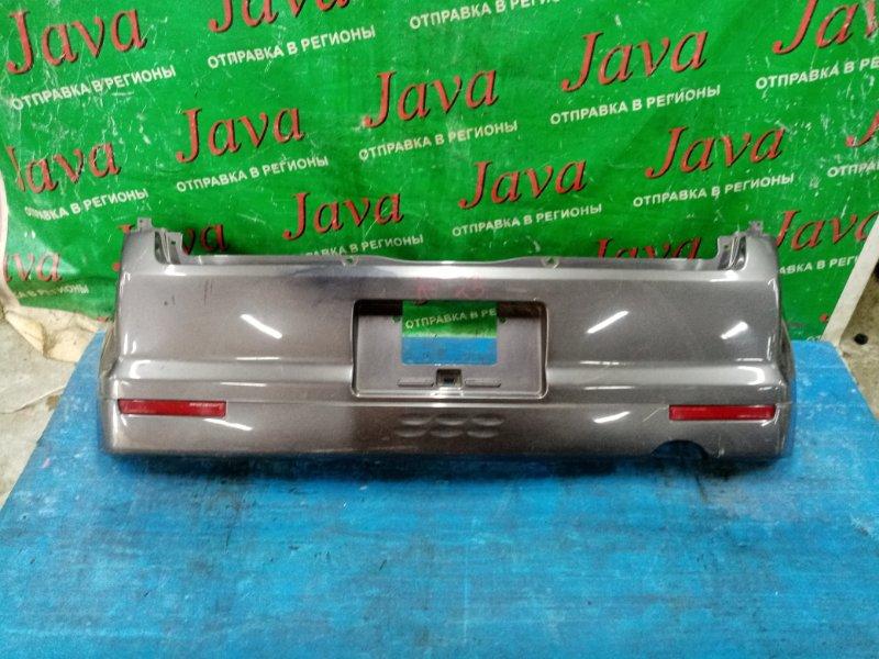 Бампер Mitsubishi Ek Sport H81W 3G83-T 2005 задний (б/у) ПОТЕРТОСТИ,