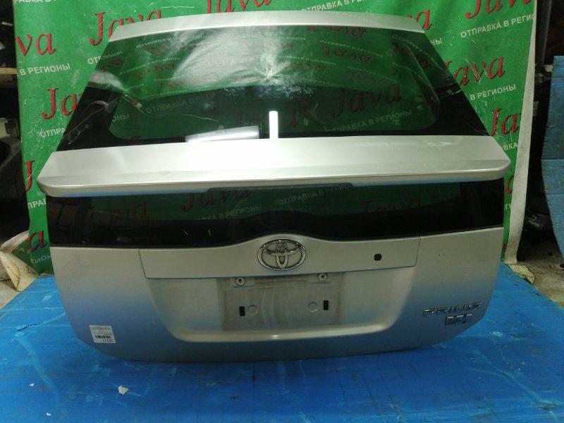 Дверь задняя Toyota Prius NHW20 1NZ-FXE 2004 задняя (б/у) TOURING. КАМЕРА. ПОТЕРТОСТИ.