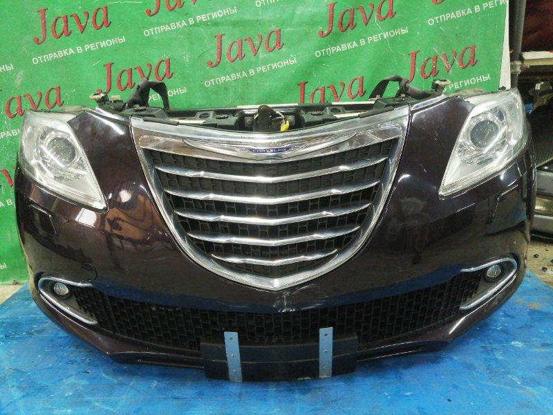 Ноускат Lancia Ypsilon 846 312A2000 2013 передний (б/у) КСЕНОН. ТУМАНКИ. ZLA31200005084550