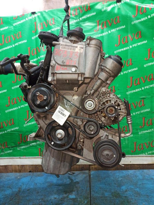 Двигатель Volkswagen Polo 9N1 BTS 2006 (б/у) ПРОБЕГ-80000КМ. 2WD. КОСА+КОМП.  ПОД А/Т. СТАРТЕР В КОМПЛЕКТЕ. WVWZZZ9NZ7U000049