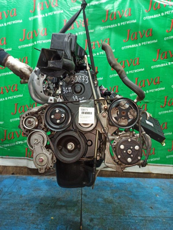 Двигатель Mitsubishi Toppo H82A 3G83 2010 (б/у) ПРОБЕГ-39000КМ. 2WD. +КОМП. МЕХ. ЗАСЛОНКА. ПОД А/Т. СТАРТЕР В КОМПЛЕКТЕ.
