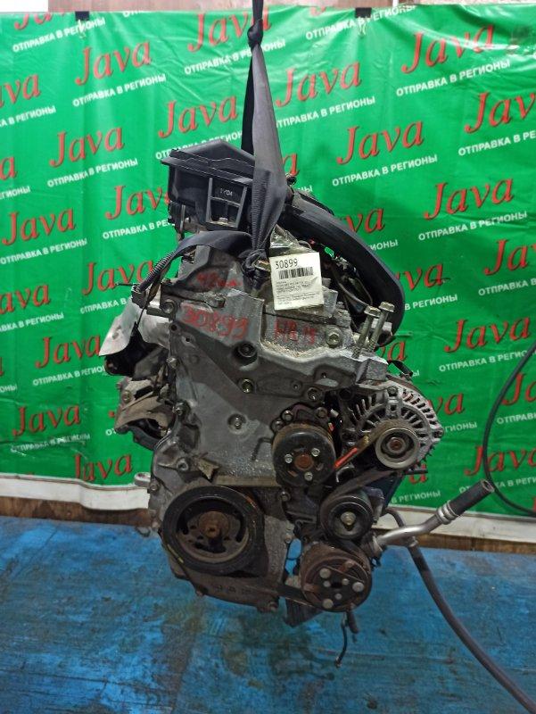 Двигатель Nissan Juke YF15 HR15DE 2011 (б/у) ПРОБЕГ-42000КМ. 2WD. +КОМП. ПОД А/Т. СТАРТЕР В КОМПЛЕКТЕ.