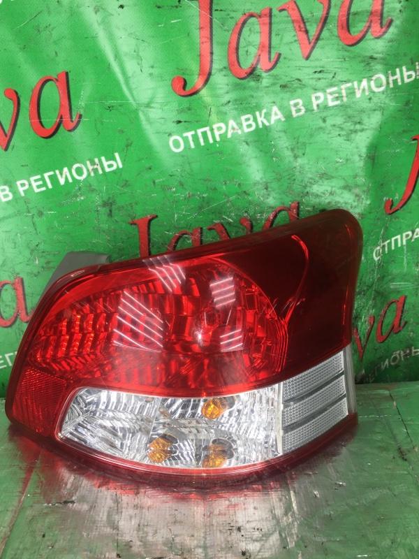 Стоп-сигнал Toyota Belta KSP92 1KR-FE 2006 задний правый (б/у) 52-162