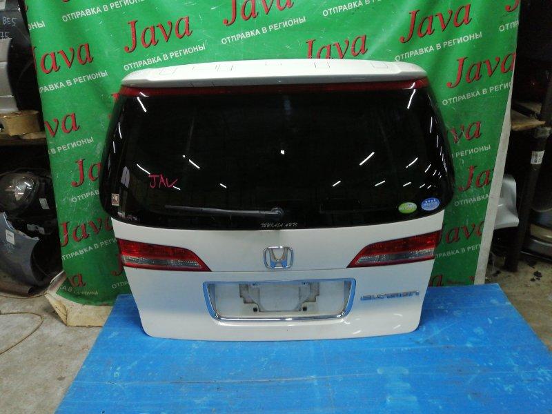 Дверь задняя Honda Elysion RR1 K24A 2006 задняя (б/у) ПОТЕРТ, СПОЙЛЕР, КАМЕРА, МЕТЛА