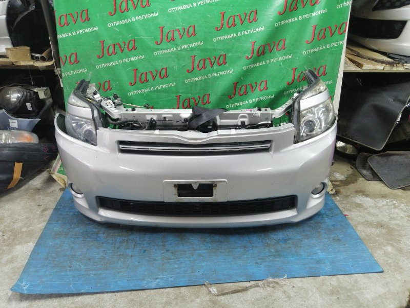 Ноускат Toyota Voxy ZRR70 3ZR-FAE 2008 передний (б/у) КСЕНОН. ТУМАНКИ. НАДРЫВ БАМПЕРА С НИЗУ. ЛОМ ВЕРХНЕГО КРЕПЛЕНИЯ ФАРЫ(ЕСТЬ)