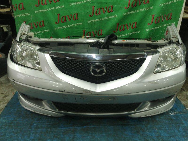 Ноускат Mazda Mpv LW3W L3-DE 2004 передний (б/у) ТУМАНКИ. ПОТЕРТОСТИ НА БАМПЕРЕ.