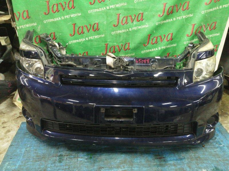 Ноускат Toyota Voxy ZRR70 3ZR-FAE 2007 передний (б/у) КСЕНОН. ЗАГЛУШКИ. ЛОМ КРЕПЛЕНИЙ ФАР. НАДРЫВ БАМПЕРА С НИЗУ.