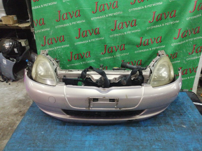 Ноускат Toyota Vitz SCP10 1SZ-FE 1999 передний (б/у) 1-Я МОД. ПОД А/Т.
