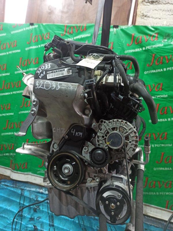Двигатель Audi A1 8X1 CHZ 2018 (б/у) ПРОБЕГ-4000КМ. 2WD. КОСА+КОМП. ПОД А/Т. СТАРТЕР В КОМПЛЕКТЕ. WAUZZZ8X9JB058775
