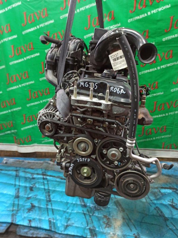 Двигатель Nissan Moco MG33S R06A 2012 (б/у) ПРОБЕГ-29000КМ. 2WD. +КОМП. ПОД А/Т. СТАРТЕР В КОМПЛЕКТЕ.