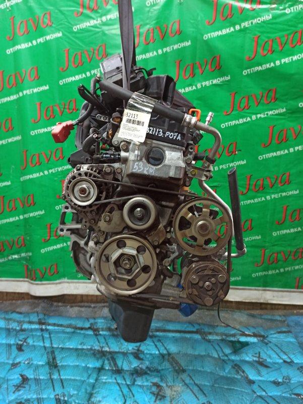 Двигатель Honda Life JC1 P07A 2012 (б/у) ПРОБЕГ-53000КМ. 2WD. КОСА+КОМП.  ПОД А/Т. СТАРТЕР В КОМПЛЕКТЕ.